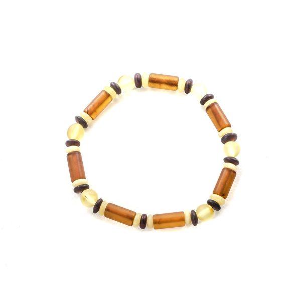 Unisex Natural Amber Bracelet Top