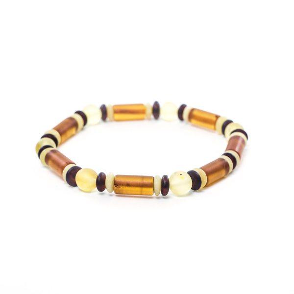 Unisex Natural Amber Bracelet