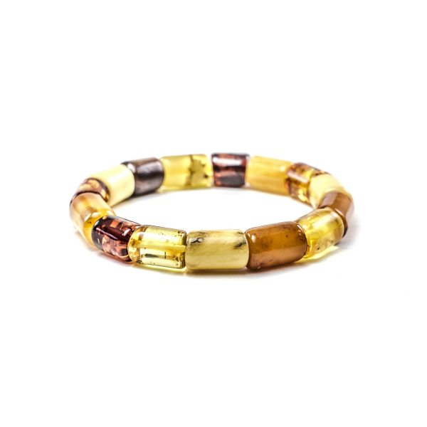 Colored Amber Bracelet