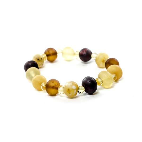 Unpolished Baroque Beads Bracelet