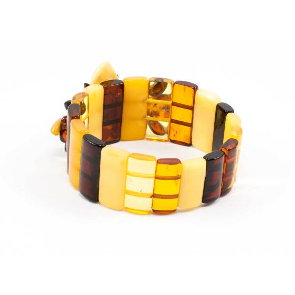 Pure Amber Color Bracelet Back