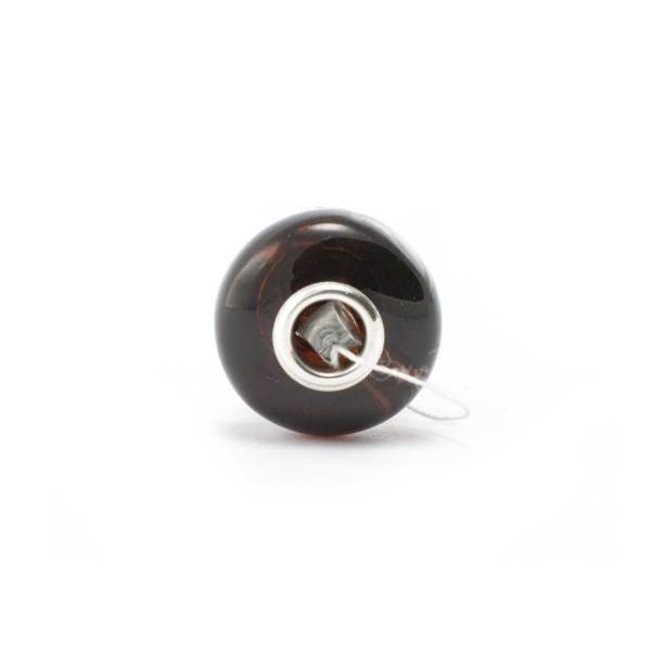 Amber Charm Cherry Bead Front
