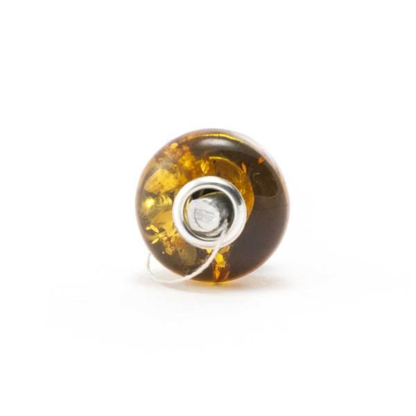 Amber Charm Cognac Bead