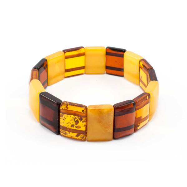 Stylish Amber Bracelet Backside