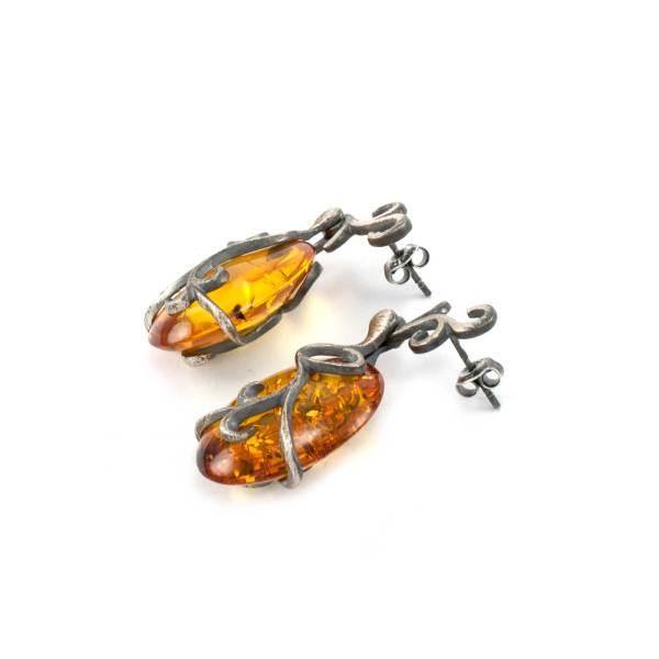 Vinatage Style Azure Earrings 3