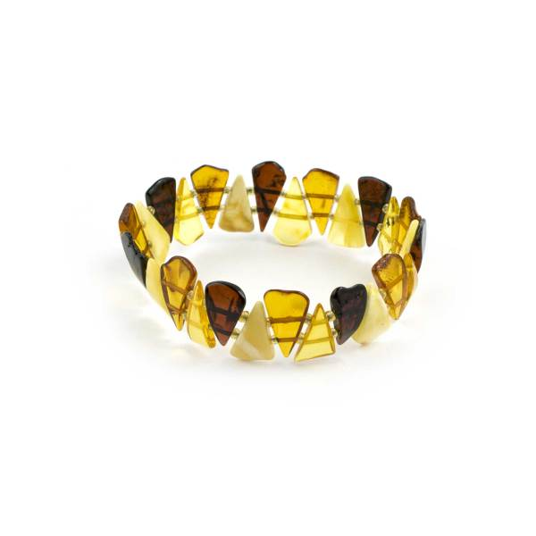 Colorful Amber Bracelet