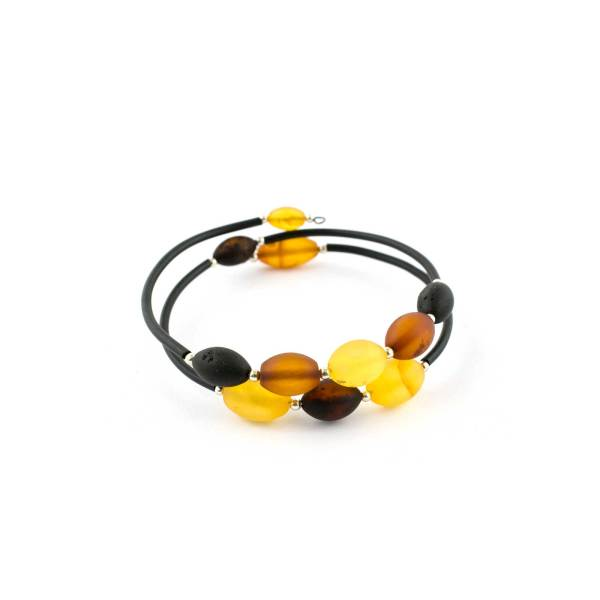 String Amber Bracelet