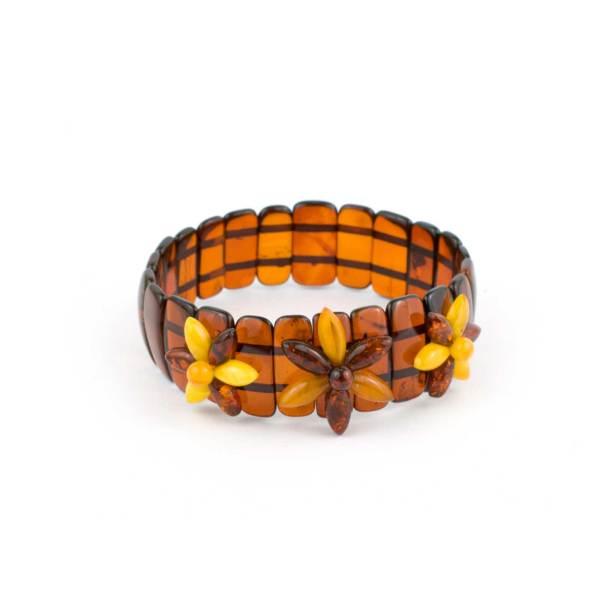 Elastic Amber Bracelet