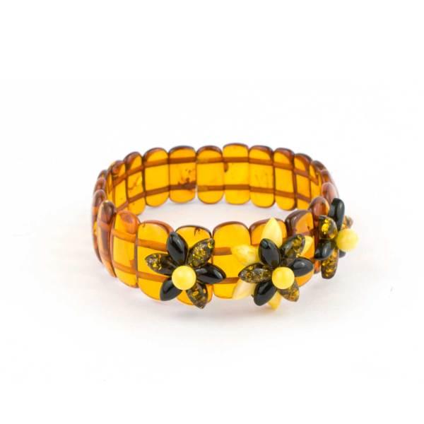Streching Amber Bracelet