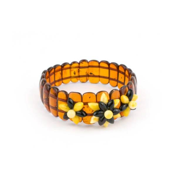 Strech Amber Bracelet