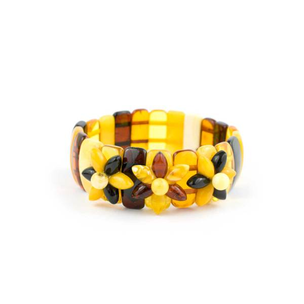 Multicolor Bracelet on Elastic Band