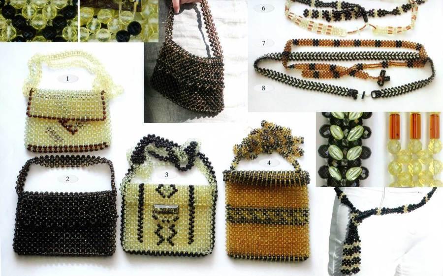 amber pendants bag