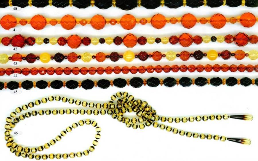 40-46 gintariniai karoliai