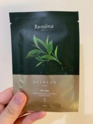 Remiina面膜內包裝