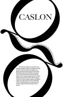 Caslon - typographic layout3