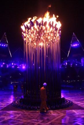 The Olympic Cauldron, London 2012 Olympics