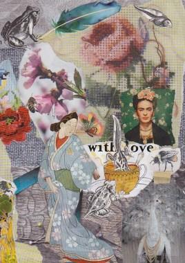 Frida Kahlo as inspiration