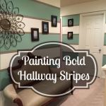 go bold with hallway stripes