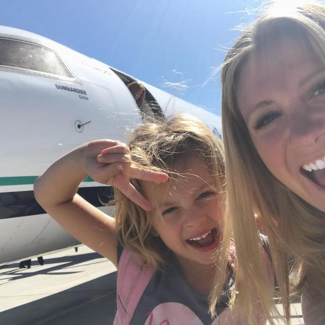 riding small planes and stuff