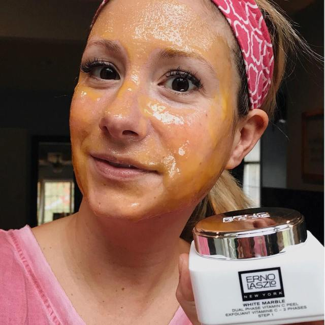 Hoping this new Erno Laszlo Vitamin C face mask canhellip