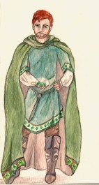 Morgan's father in The Windkeeper. Age: never specified. Magic: Earth, specialty: keeper. Tools of magic: Emerald.