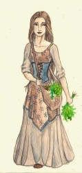 Morgan's best friend from Birchaven in The Windkeeper. Age: 15-16. Magic: none.