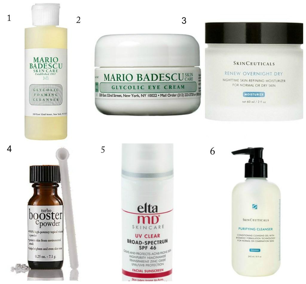 .skin care routine