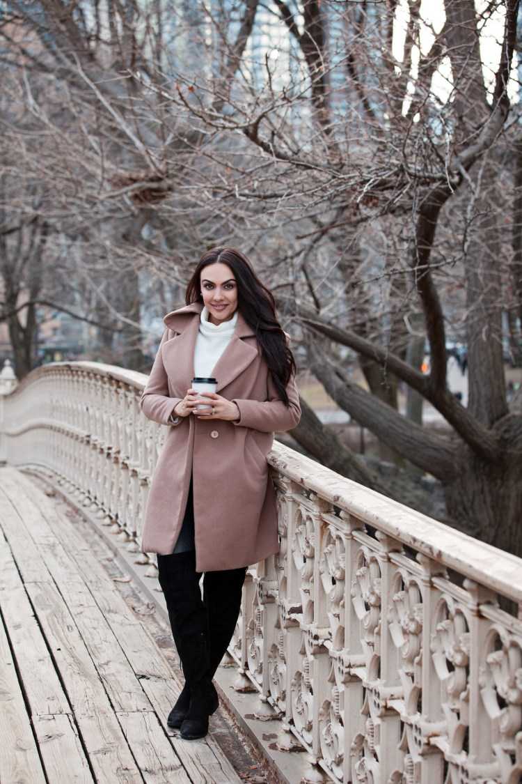 HOW TO STYLE A CAMEL TRENCH + VIDEO