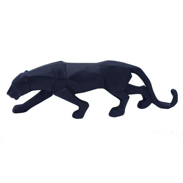Statue panthère noire