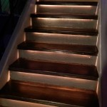 stairs brown