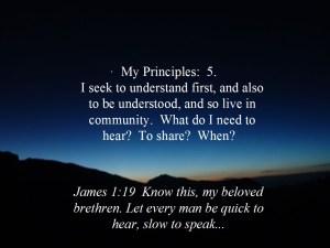 Principles 5