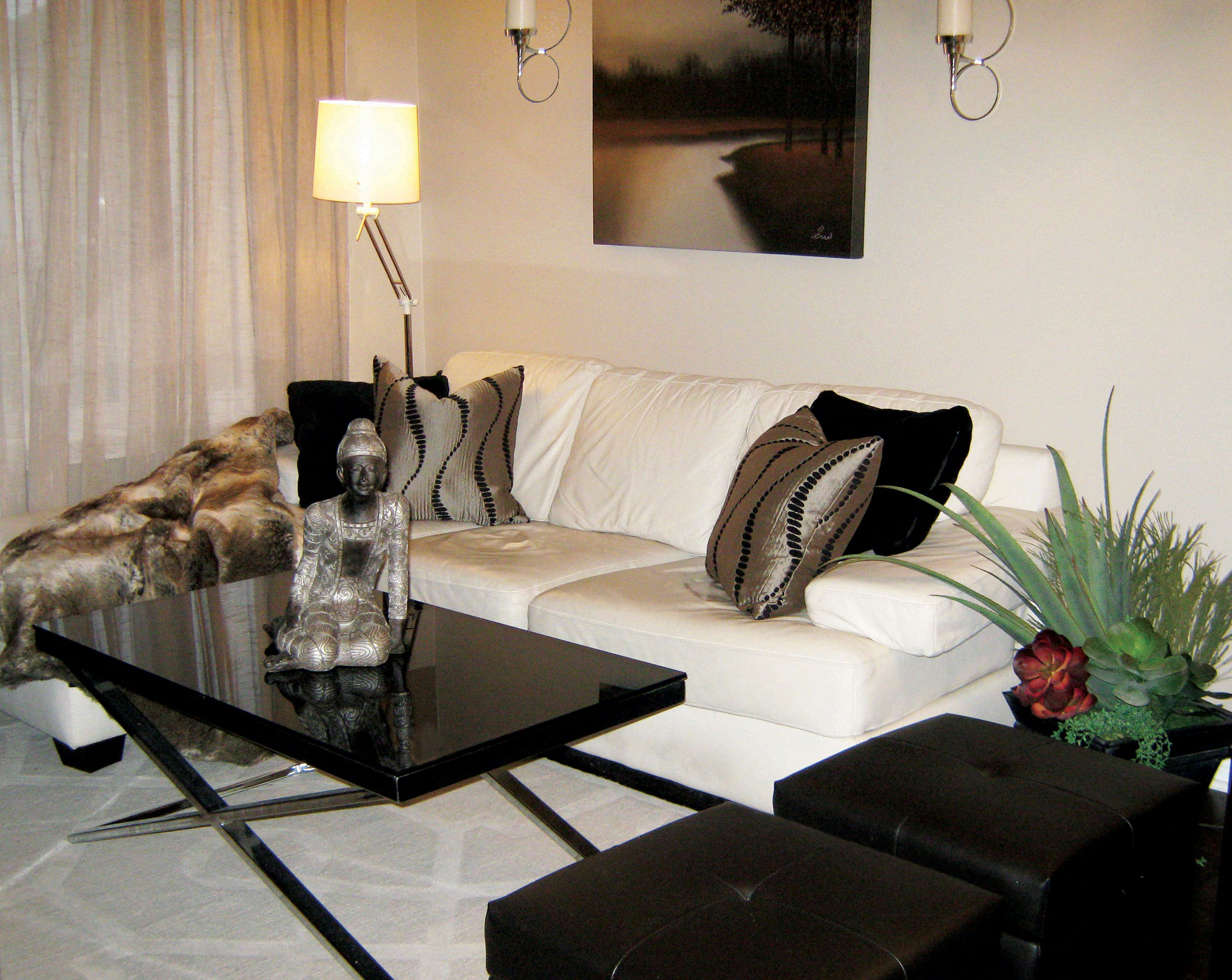 Small Space Living Room Design Video How To For A U2013 Ambience