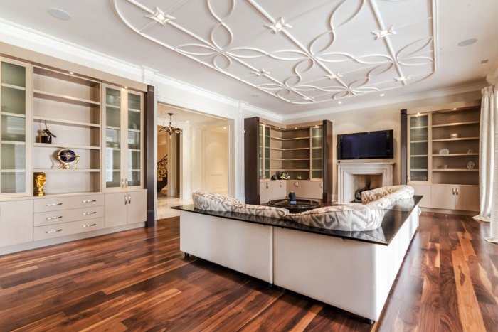Chateau Inspired Custom Home - Recreation Room