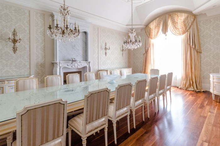 Chateau Inspired Custom Home - Dining Room