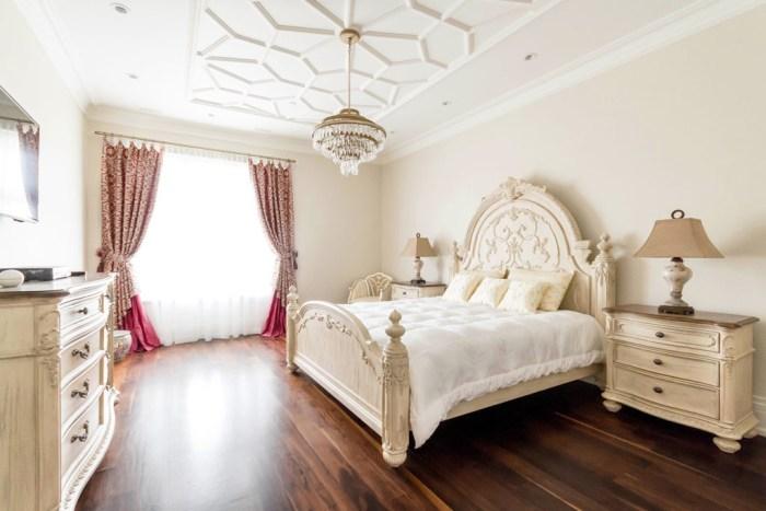 Chateau Inspired Custom Home - Bedroom