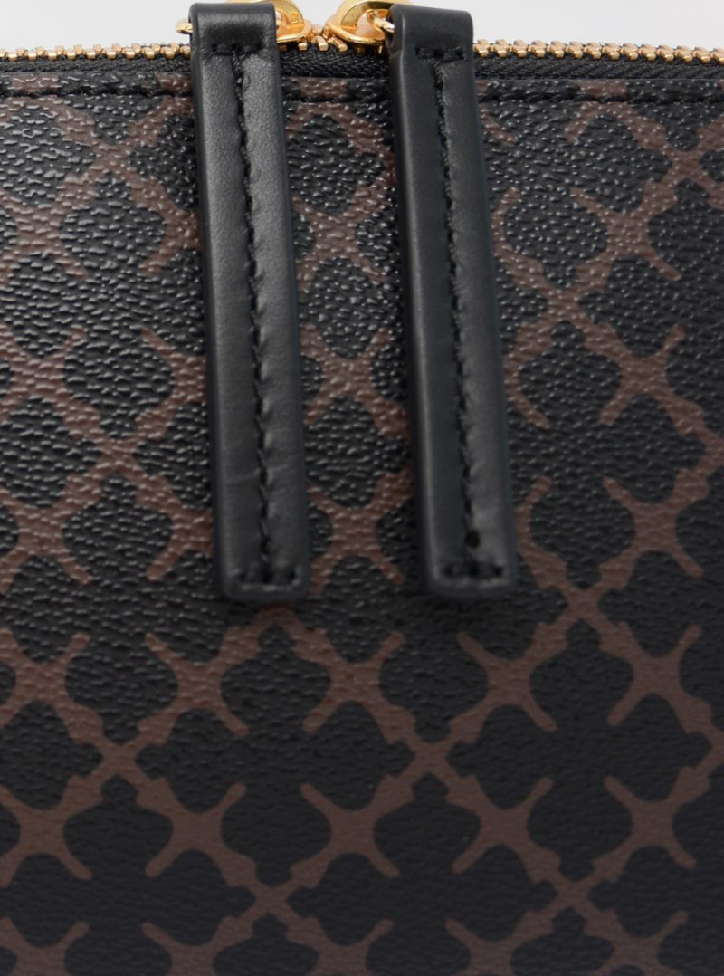 Sort eller brun-mønstret clutch eller sminkepung By Malene Birger - pouchysm 61203141