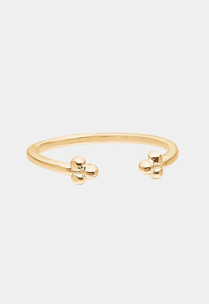 Enkel 'simple flower' ring Enamel Copenhagen