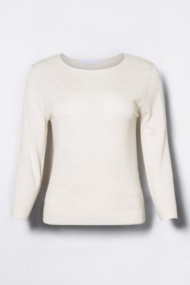 Offwhite melange evening sweater Cathrine Hammel - 116.118 evening sweater