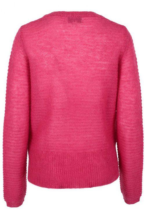 Pink eller guccigrønn mohairmix genser med høyt liv Dear Dharma- vivi