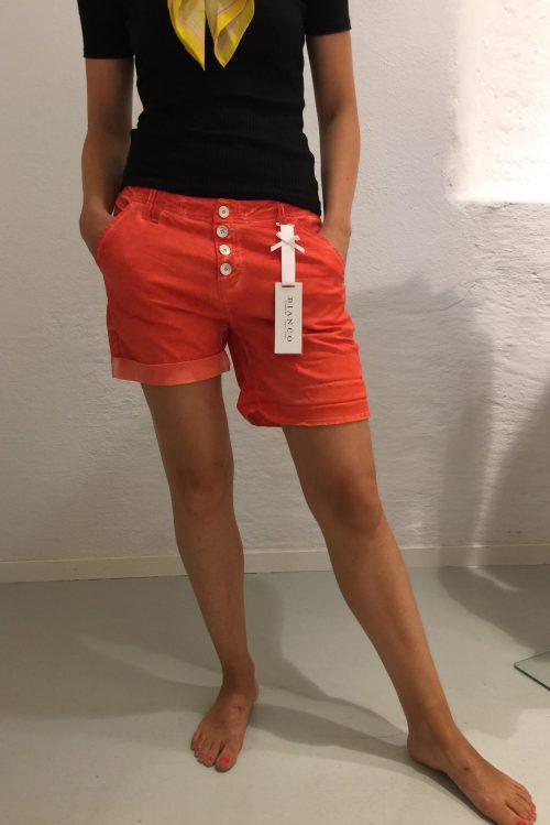 Korallrød shorts Bianco Jeans - 1117334