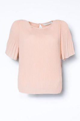 Dus rosa plissébluse med kort erm Cathrine Hammel - 453.118 miami t-shirt