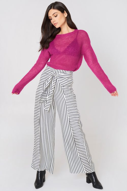 Pink mohairgenser Gestuz - molly pullover 1917