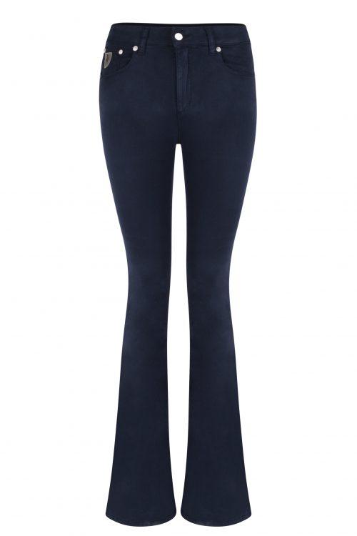 Navy 'Raval' supermyk flare bukse Lois Jeans