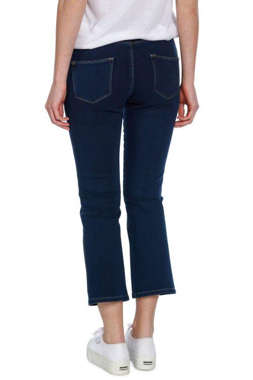 Kick flare dark blue jeans Mos Mosh - 122450 allyssa freedom jeans