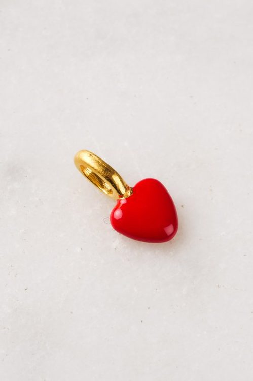 Anheng 'charm heart' Enamel Copenhagen - charm heart