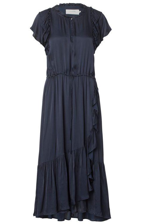 Lang elegant viskose kjole Munthe - pierre