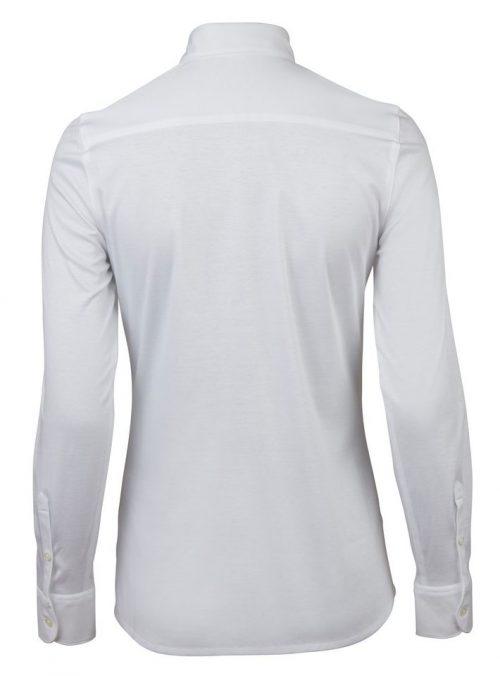 Marine eller hvit jerseystretch skjorte Stenstrøms - 445001-5517
