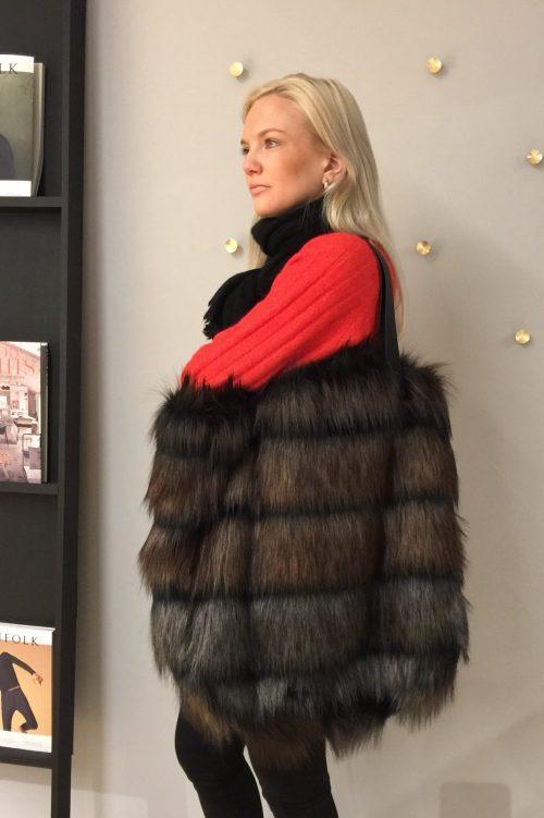 Big shopper fake fur Munthe - vansy