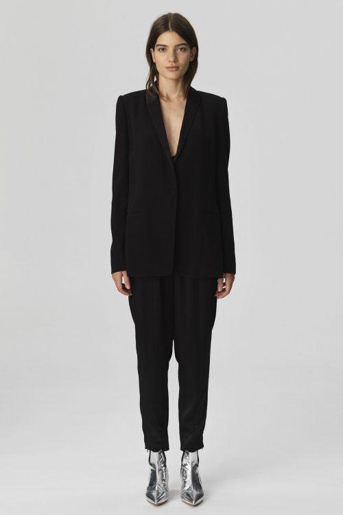 Sort blazer By Malene Birger - AUBERON-BLAZER-Q62856040_050