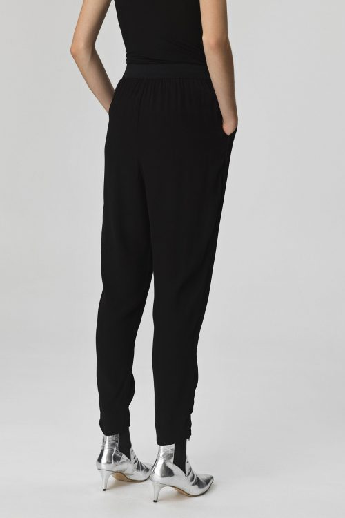 Sort bukse By Malene Birger - IETOS-TROUSERS-Q62856039_050